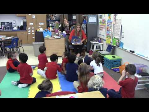 Big Group Reading Lesson-Kindergarten