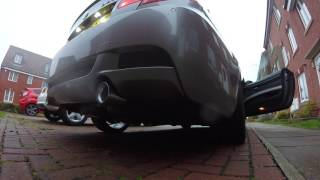 bmw e92 335i n54 performance exhaust cold start