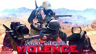 FULL METAL VIOLENCE | 1000 hours of PUBG (Montage by Threatty)