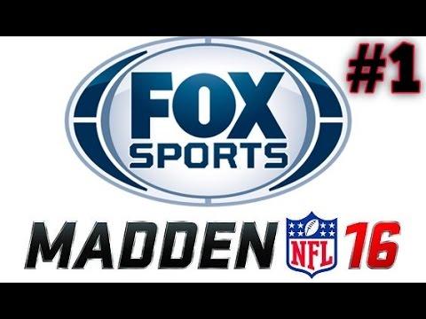 Fox Sports Talk Radio Madden NFL 16 Show Episode 1