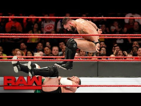 Finn Bálor vs. Samoa Joe: Raw, Nov. 20, 2017