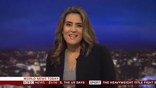Samantha Simmonds BBC News Channel HD World News Today December 2nd 2018
