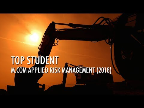 Interview with top student in Risk Management