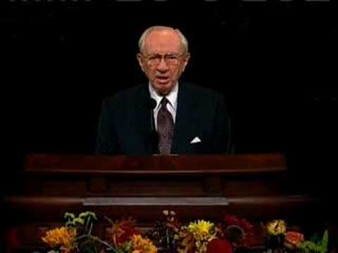 LDS (Mormon) President Gordon B. Hinckley After 9/11 - Pt. 1