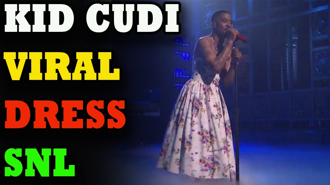 Kid Cudi rocks a dress for 'SNL' musical performance in apparent ...