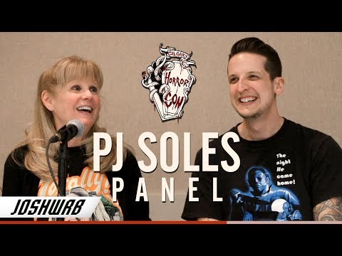 PJ Soles Panel from the 2018 Horror Con Calgary