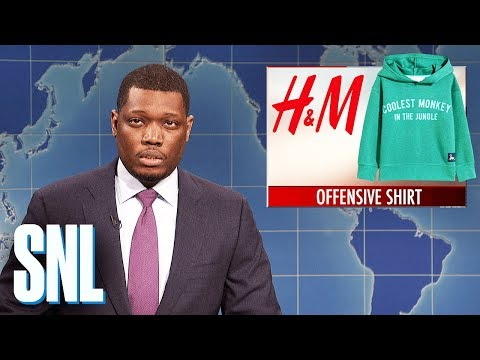 "Weekend Update on H&M's ""Monkey"" Hoodie - SNL"