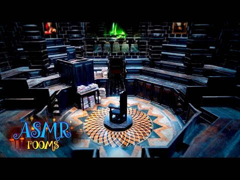 Harry Potter ASMR - Ministry of Magic Courtroom - Ambient sounds - Floo network, Dementors, memos