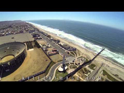 USA / Mexico Border Aerial Video | Tijuana | Sept 2013