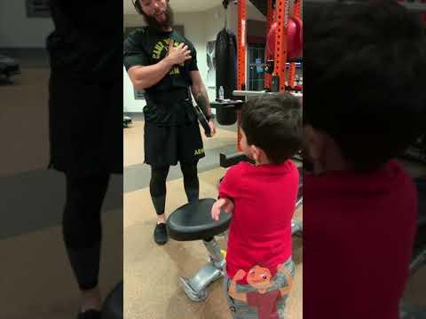 La Gitana - Dad & Son training together...