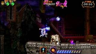 Ultimate Ghosts 'N Goblins Sony PSP Gameplay -