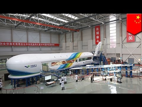 China bets on 'Iron Bird' to compete with Airbus and Boeing