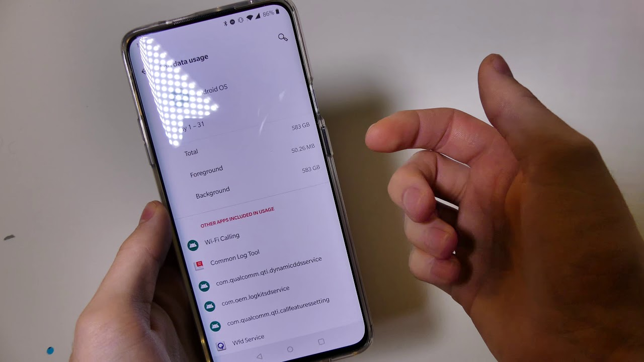 OnePlus 7 Pro Crazy Data Usage (T-Mobile Version)