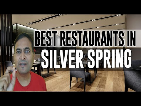Best Restaurants And Places To Eat In Silver Spring, Maryland MD