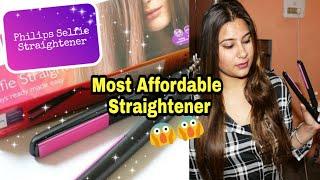 Philips Selfie Straightener Review | Philips HP8302/00 Hair Straightener