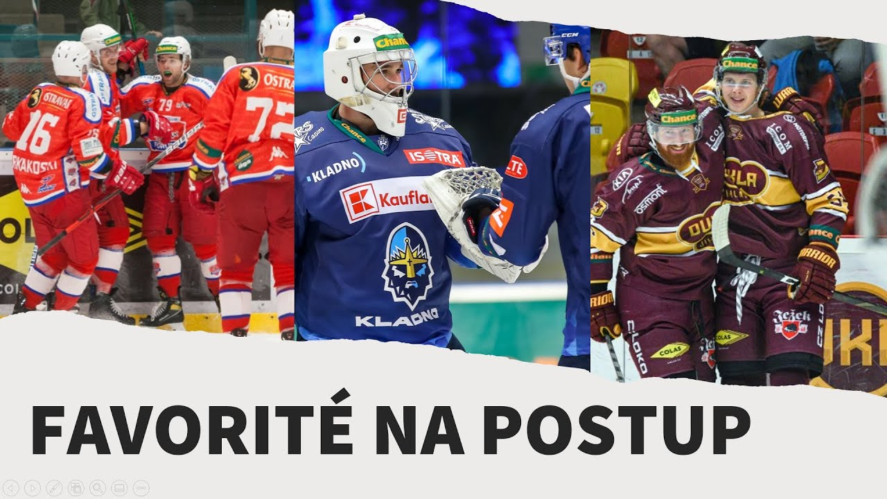 Download +/- | TOP 3 favorité na postup do extraligy