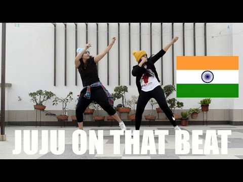 Indian Girls Do 'JUJU ON THAT BEAT'