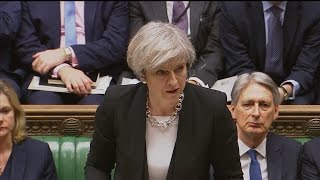 British Prime Minister Makes Defiant Speech Against Terror As Support Floods In