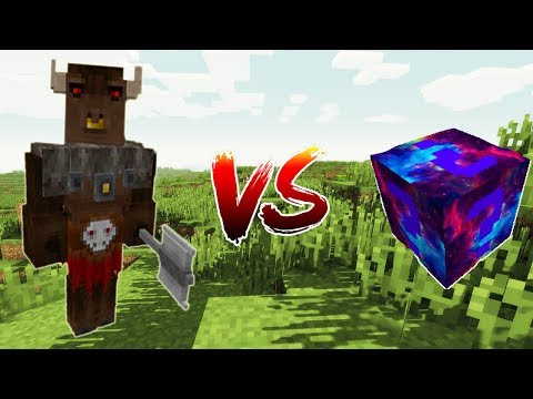MINOTAURO VS. LUCKY BLOCK DO UNIVERSO - (CHALLENGE GAMES) MINECRAFT