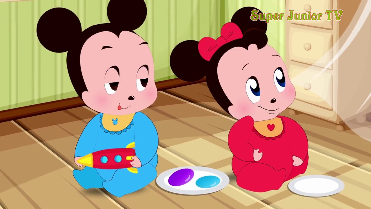 Minnie Mouse Babies Is Angry With Mickey Funny Story KIDS TV SHOWS