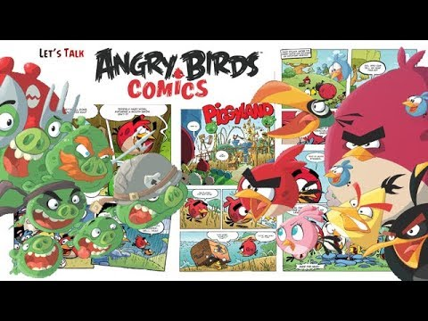 Let's Talk Angry Birds Comics! - Angry Birds Merchandise Videos!