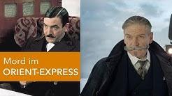 Vergleich alt und neu: MORD IM ORIENT-EXPRESS