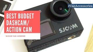 Dash Cam / MotoVlogging Camera : Sj6 Legend Review