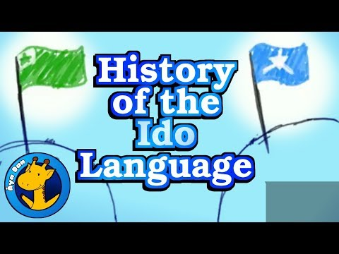History of the Ido Language, and a little about Esperanto (Áya Dan / Ido Linguo)