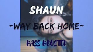 SHAUN (숀) – 'Way Back Home' [Bass Boosted]