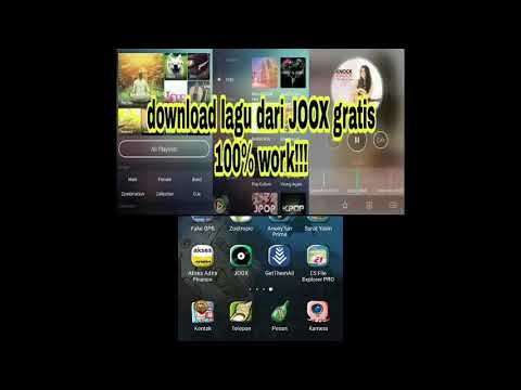 tutorial download lagu dari JOOX