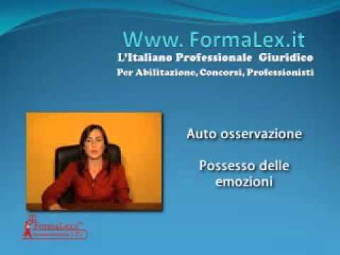 Video lezione di psicologia