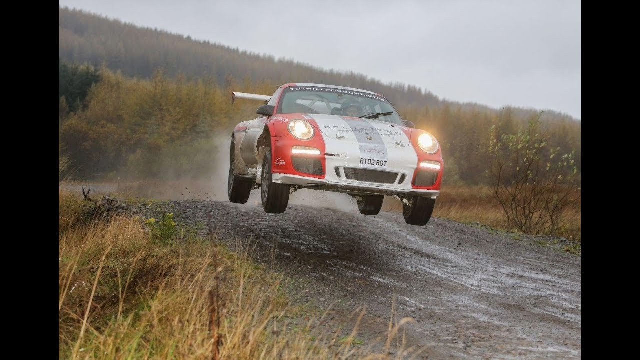 Please Enjoy This Clip Of A 911 Gt3 Rally Car Flying Through The Forest