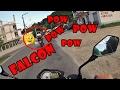FALCON 400 COM MOTOR DE HELICÓPTERO!!! - MOTOFOX