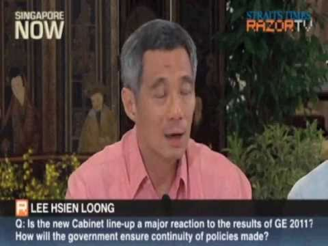 Prime Minister Lee Hsien Loong unveils his new Cabinet and Q&A