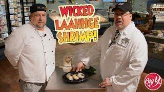 Wicked Laahhge Shrimp - Baked Stuffed Shrimp Recipe