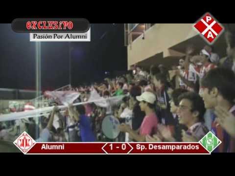 GOL DE ALUMNI - Final: Alumni 1 - Desamparados 1
