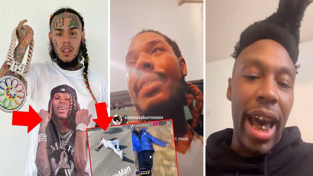6ix9ine put King Von on a SHIRT, Fetty Wap Disrespected his friends + Self Snitchin by Lil Murden