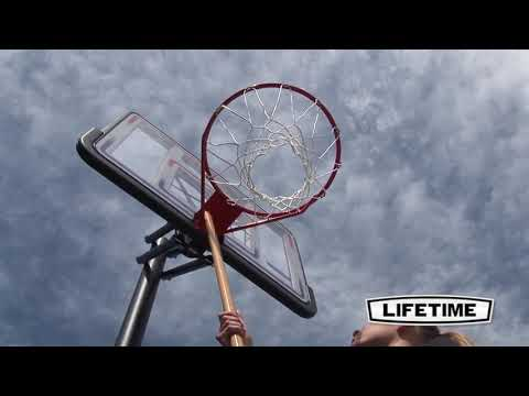 Lifetime 44 Inch In-ground Basketball Hoop System 1008 - KitSuperStore.com