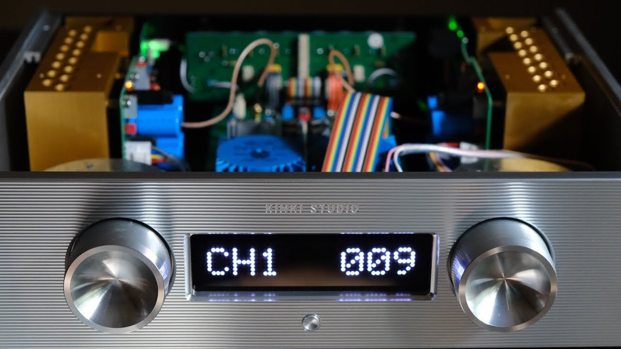 Review!  The Kinki Studio EX-M1+ Integrated Amplifier!