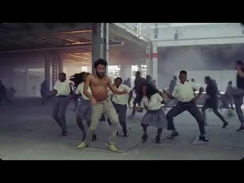 Childish Gambino Dancing to all I want for Christmas not mine
