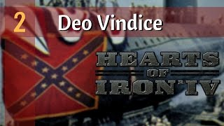 Hearts of Iron 4 Deo Vindice Mod | Ep 2 - American Cousins