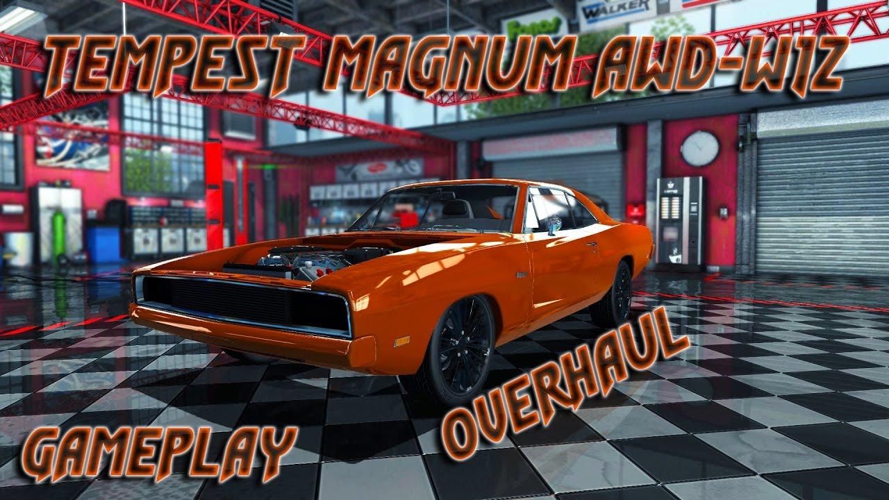 Car Mechanic Simulator 2015 | Gameplay | Tempest Magnum AWD-W12 OVERHAUL  DLC | NoCom by BGR GAMING187