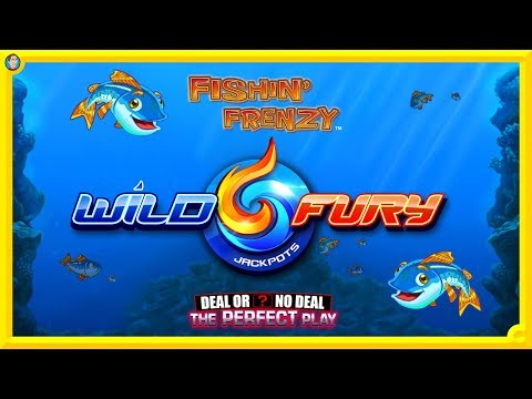 WILD FURY BONUS WIN, FISHING FRENZY & PERFECT PLAY !!!