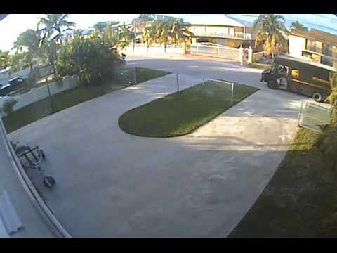 UPS Delivery Driver Running Behind Schedule