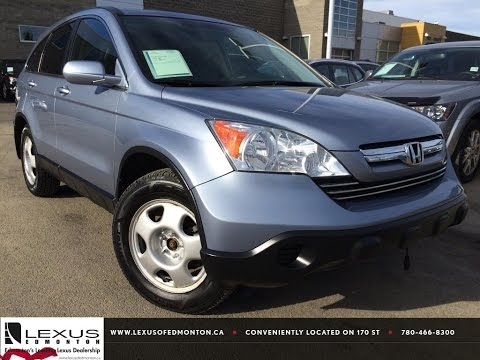 Pre Owned Silver 2007 Honda CR-V 4WD EX-L Review   Beaumont Alberta