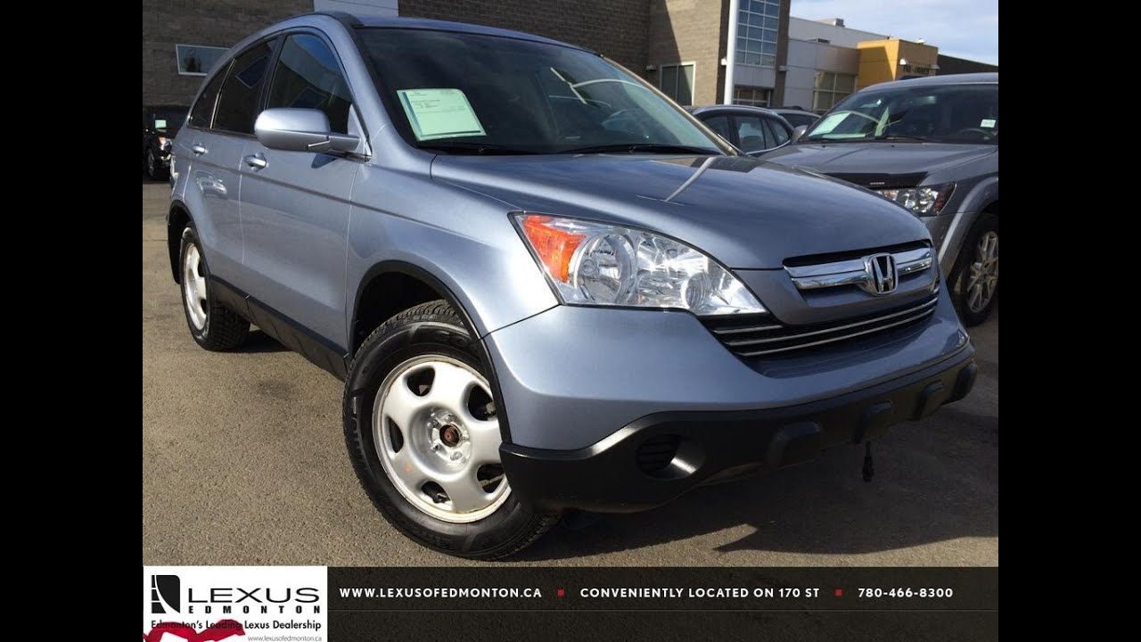 Pre Owned Silver 2007 Honda CR V 4WD EX L Review | Beaumont Alberta