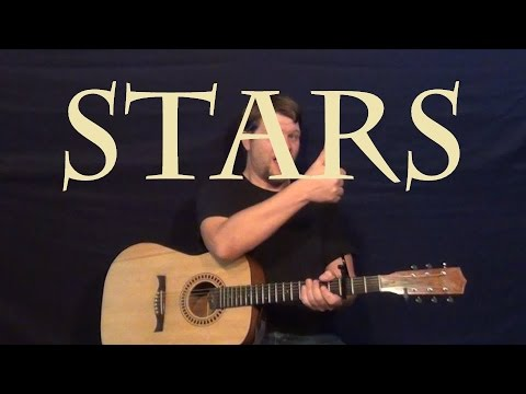 Stars Grace Potter Guitar Lesson Easy Strum Chords How To Play
