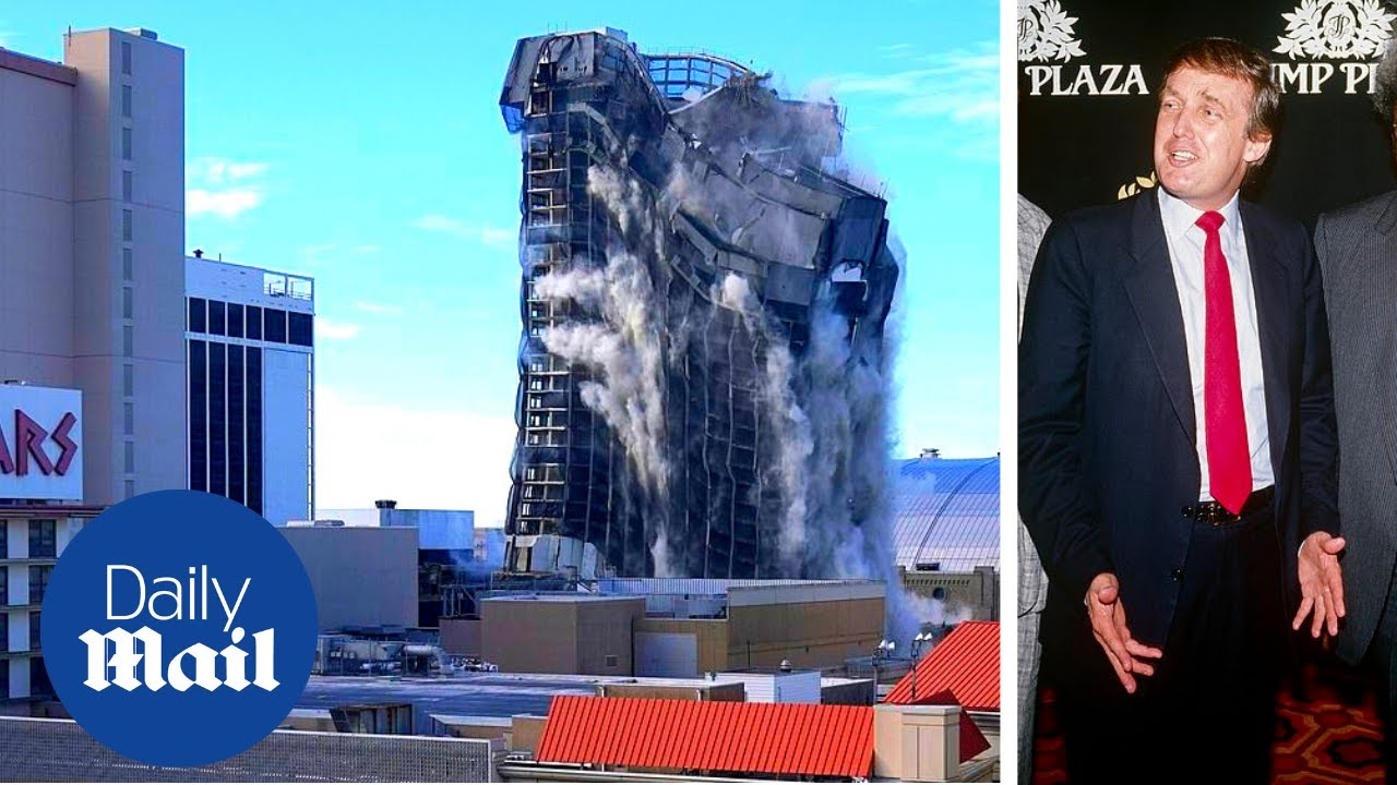 Watch the Trump Era in Atlantic City End With 3000 Sticks of Dynamite