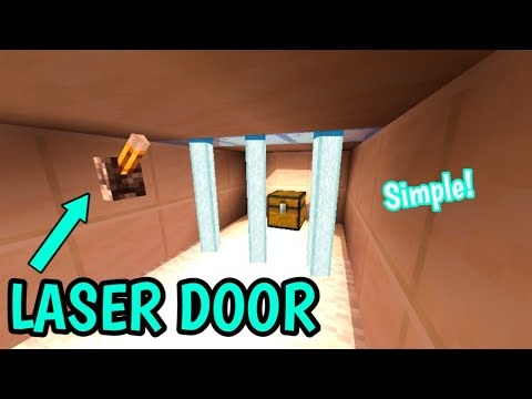 cara-membuat-laser-door-di-minecraft-pe--  -minecraft-tutorial