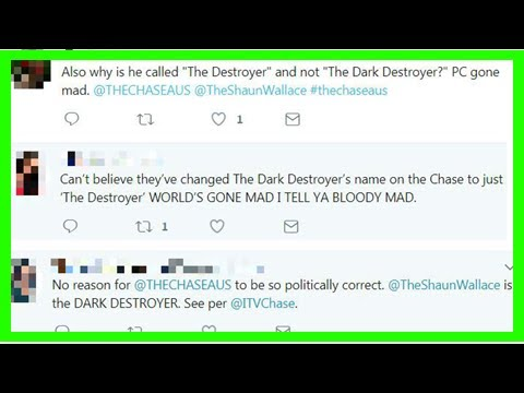 [Breaking News]People are P *** ed off that ' The Chase Australia ' change The Dark destroyer name